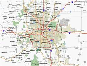 of colorado denver map denver area map home search