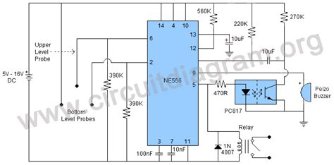 water level controller wiring diagram level free printable