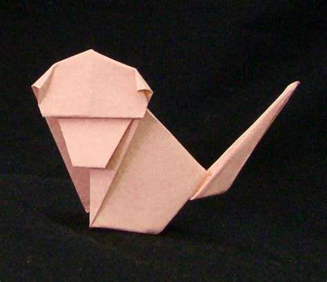 Monkey Origami - zodiac origami diagrams for the 12 animals in the