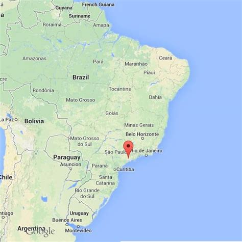 sao paulo on world map sao paulo on map of brazil world easy guides