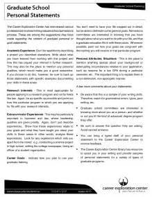 Exles Of Personal Essays For Graduate School by Grad School Essay Sle Psychology Resume Sle Graduate School Application Smlf Objective