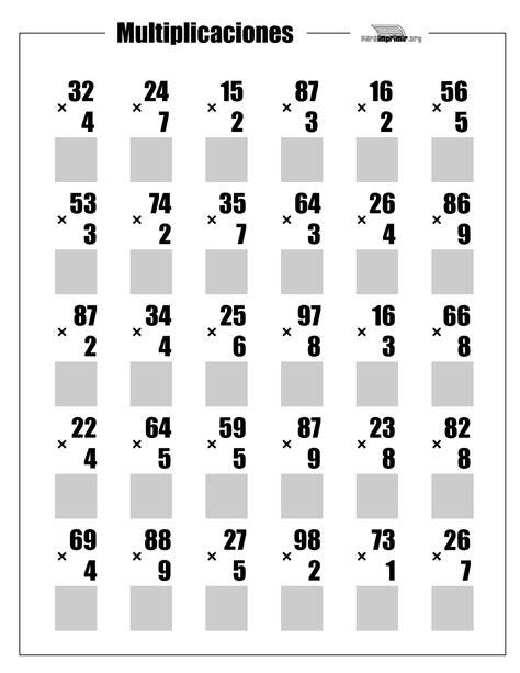 Calendario 9 Digito Multiplicaciones De 2 D 237 Gitos Para Imprimir