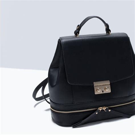 Zara Backpack Classic zara like backpack in black lyst