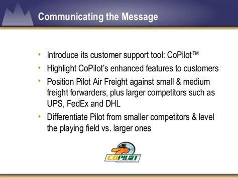 pilot air freight co pilot presentation