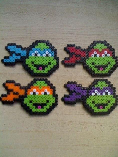 turtle perler mutant pearler and ninjas on