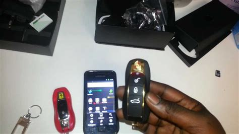 car key mini mobilecellphone youtube