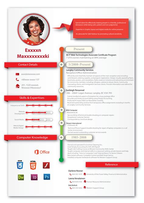Creative Resume Design by Creative Professional Resume Design For Creative