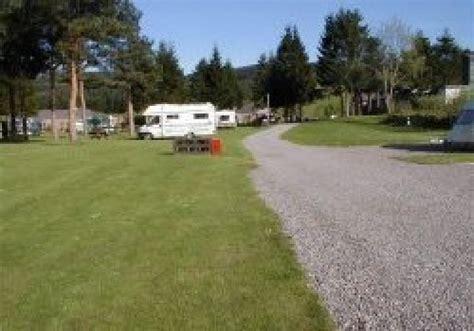 Speyside Gardens Caravan Park Aberlour On Spey Moray Walled Garden Caravan Park