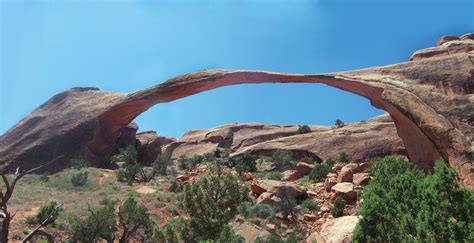 World Landscape Arch What Is The Arch In The World Utah