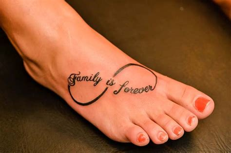 infinity tattoo locations 17 best images about tatoos on pinterest names family