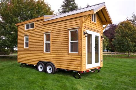 homes on wheels 160 sq ft tiny house on wheels by tiny living homes