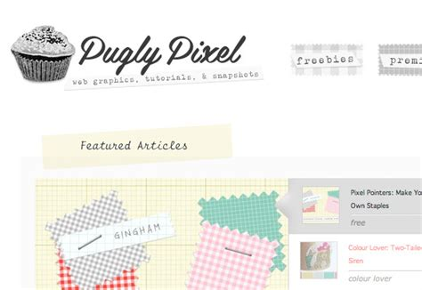 pugly pixel striking the impression in web design
