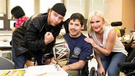 does dean ambrose have kids dean ambrose and renee young the love story that evolved