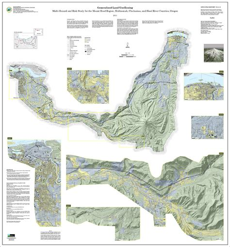 clackamas county tax maps dogami multihazard and risk study for mount