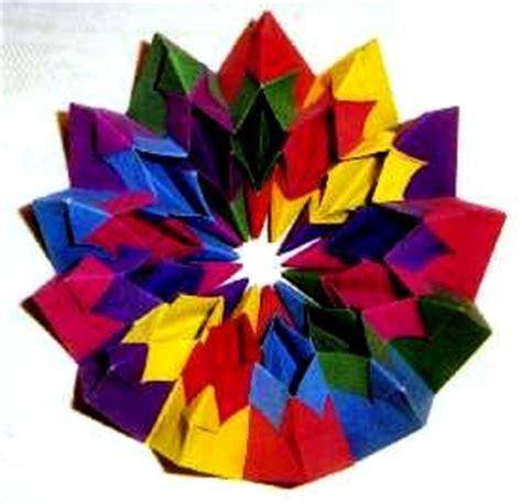 Origami Fireworks Diagram - origami models gilad s origami page