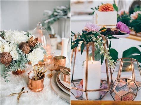 amazing vintage bronze copper wedding color ideas