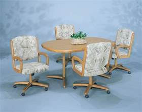 Dining Chair With Casters Dining Room Chairs With Wheels Page 3