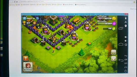 clash of clans windows download play clash of clans coc on windows 8 youtube