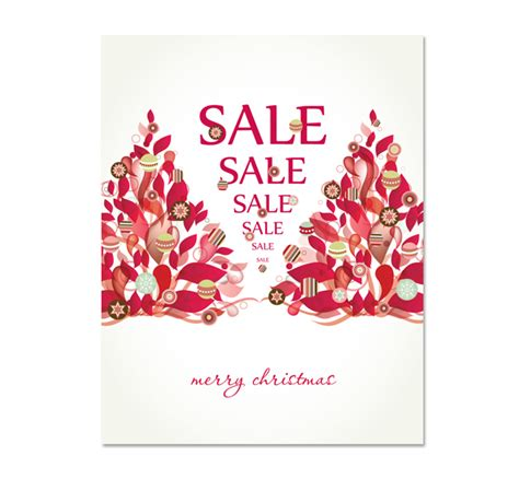 poster template for christmas tree modern tree sale poster template