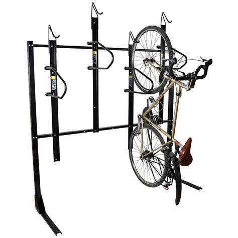 Vertical Bike Racks by Vertical Rack Saris Parking