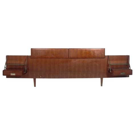 headboard with nightstands silvio cavatorta rosewood headboard with floating