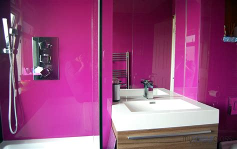 Ideas For Bathroom Tile by Bathroom Glass Splashbacks