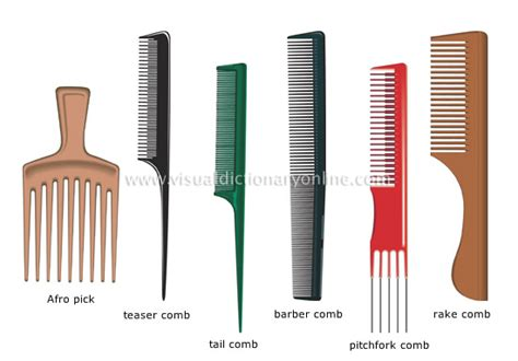 Types Of Hair Combs by Clothing Articles Personal Accessories