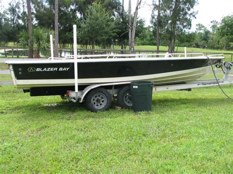 ebay bay boats for sale 2002 blazer bay 22 project off to ebay 1200 the hull