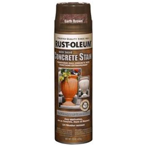 shop rust oleum 15 oz earth brown flat spray paint at lowes