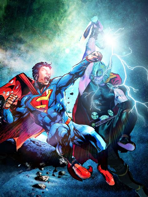 movie thor vs man of steel superman superman vs thor by mayantimegod on deviantart