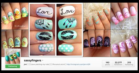 instagram tutorial nail art best nail art accounts on instagram part 1 black cat nails