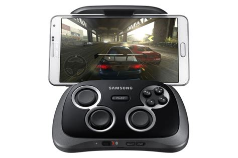 android gamepad samsung launches the smartphone gamepad an android controller accessory ars technica