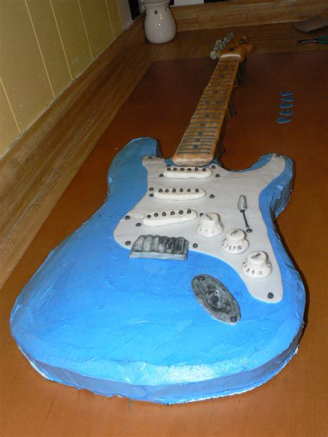 fender guitar cake template bake lore the fender stratocaster of cake