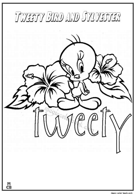 Sylvester And Tweety Mysteries Free Colouring Pages Sylvester And Tweety Coloring Pages