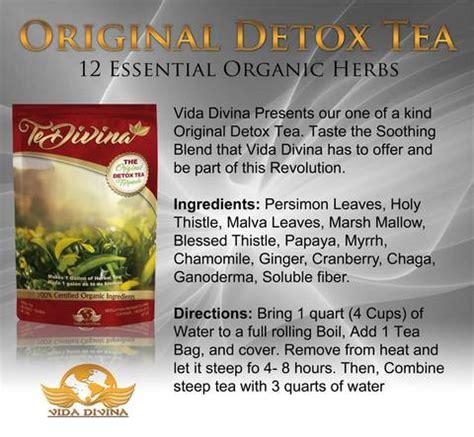 Te Divina Detox Tea Real Reviews by Te Divina Original Detox Tea Benefits Take
