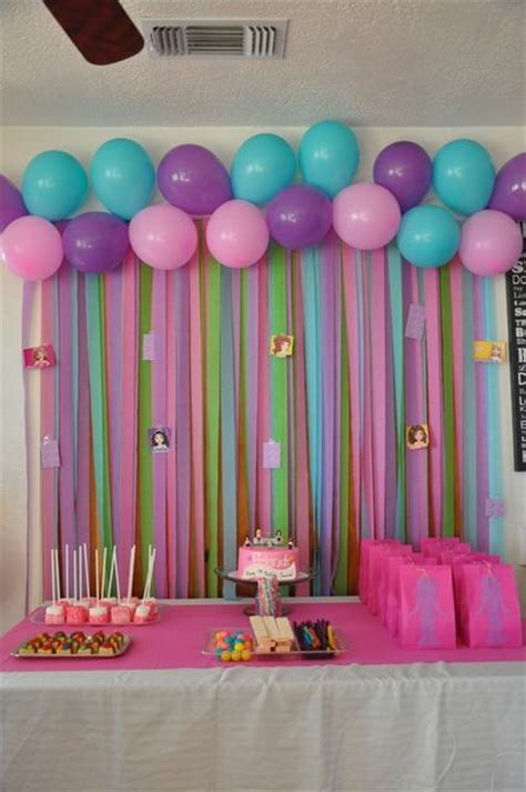 Lego Friends Birthday Party Ideas   Party backdrops, Birthdays and Streamers