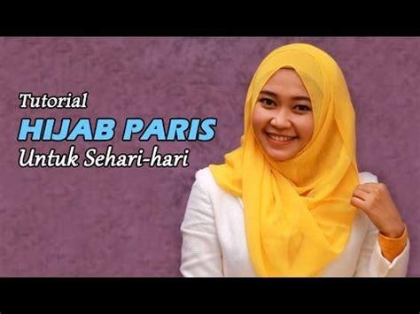 tutorial hijab paris simple untuk sehari hari xigocgmcn18 videolike
