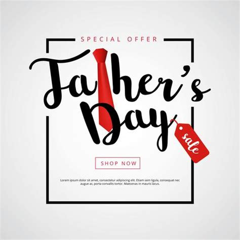 fathers day sale happy fathers day sale background free vector
