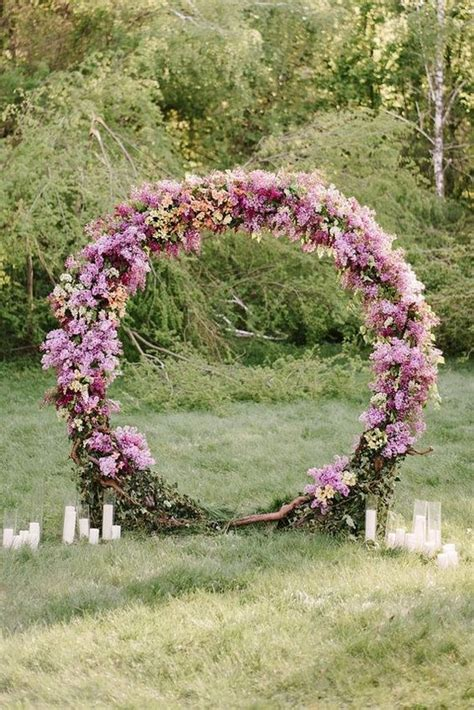 wedding arch circle top 20 pretty circular wedding arches for 2018 trends