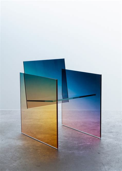 Glass Chairs by Germans Ermics Ombr 233 Chairs Ignant