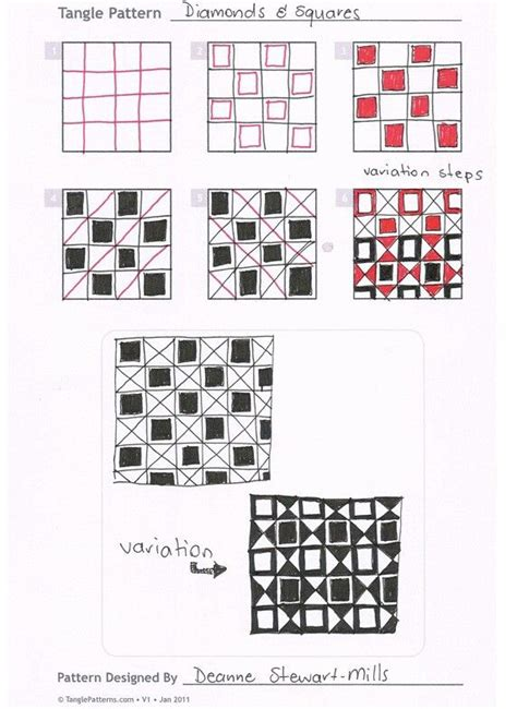 zentangle pattern squares 17 best images about zentangle squares on pinterest