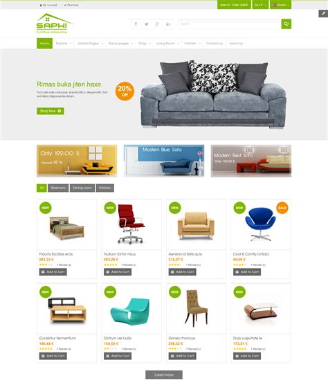 best e commerce site best 10 virtuemart templates 2015 for your ecommerce site