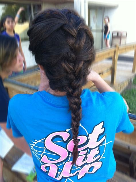 sport hairstyles pinterest super easy sport hairstyle volleyball hair beauty