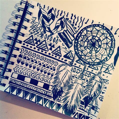 cool doodle drawing aztec drawing craftyy