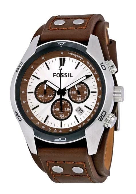 Men S Watches Fossil Men S Coachman Ch2565 Was Sold For