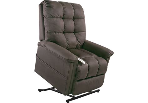 lift chair recliner gatlinburg mink lift chair recliner recliners brown