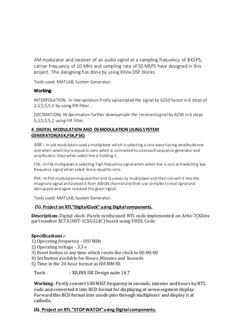 Rtl Design Engineer Job Description | rtl design engineer resume resume ideas