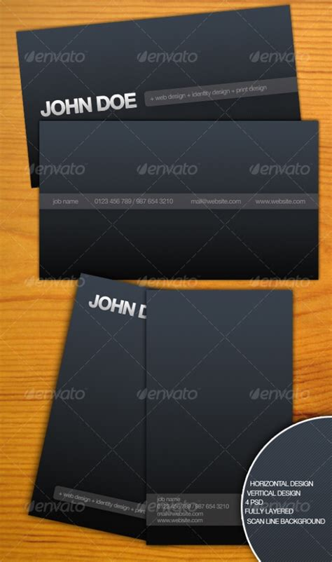 The Gallery For Gt Personal Business Cards Sles Personal Cards Templates Free