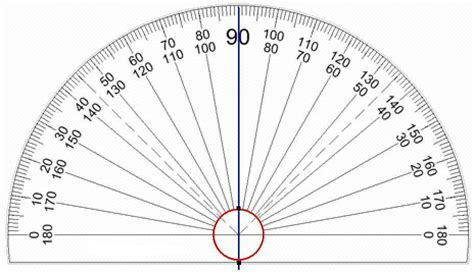 printable protractor to scale pin print protractor 360 degrees on pinterest
