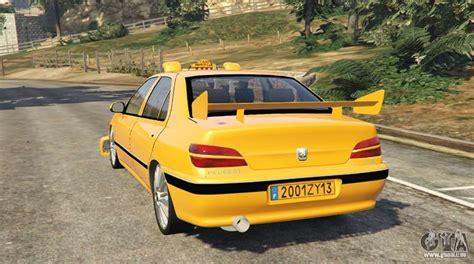 peugeot taxi taxi peugeot 406 pour gta 5